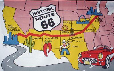 Auf der Route 66 von Oklahoma nach Santa Fe
