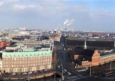 Aussicht vom Turm des Schlosses Christiansborg