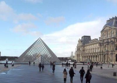 Panorama des Louvre