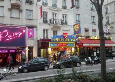 Zwischen Pigalle und Moulin Rouge