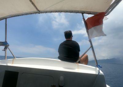 Heimfahrt von Menjangan Island