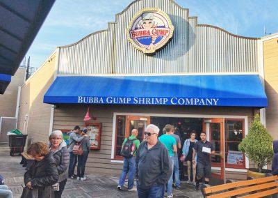 Forrest's Laden am Pier 39; nicht so empfehlenswert