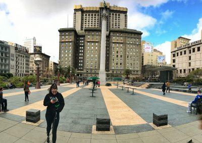 Union Square im Zentrum