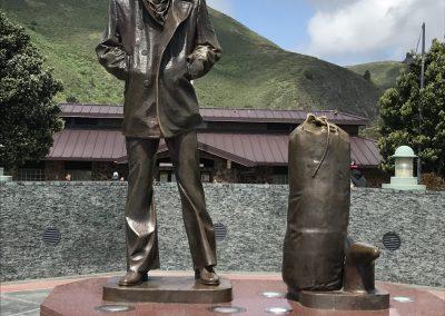 """Lonely Sailor""-Statue an der Golden Gate Bridge"