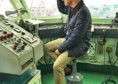 USS Hornet Flugzeugträger-Tower