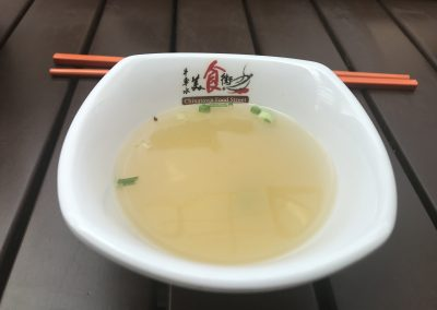 Miso Suppe in Chinatown