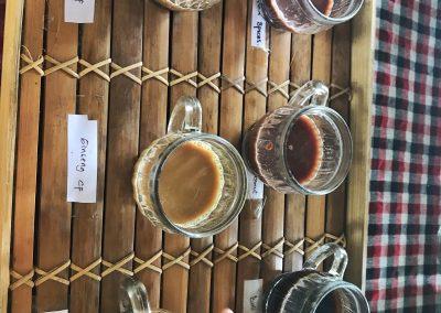 Balinesische Kaffeeauswahl