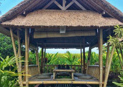 Restaurant in Bali bei Ubud