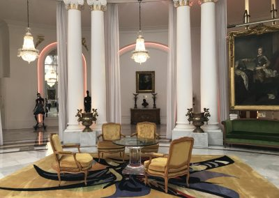 Im Foyer des berühmten Hotels Negresco