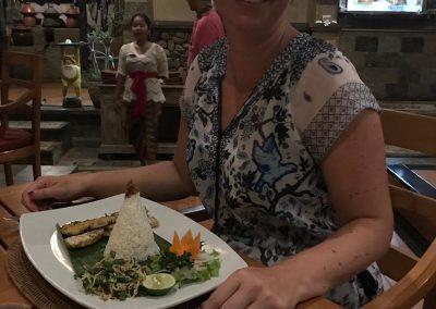 Abendessen in Pemuteran