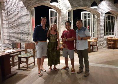 Bali Tower Abendessen mit Freunden :-)