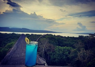 Bali Tower Sunset Cocktail