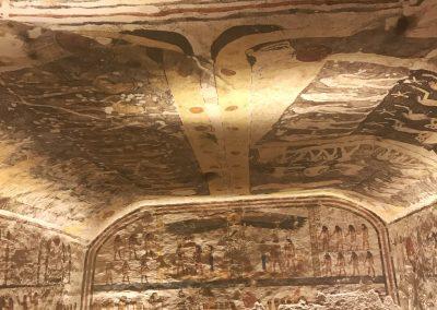 Das Grab von Ramses dem IX