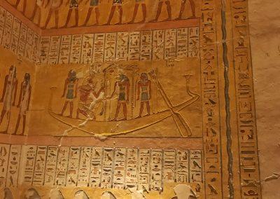 Im Grab von Ramses dem IV